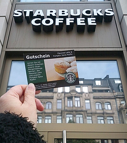 starbucks coupons deutschland